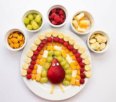 hello wonderful thanksgiving cheese cracker and fruit turkey snack