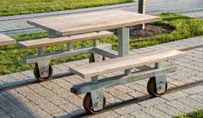 castellini esplanade picnic tables and benches gallery aga