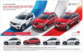 new renault kwid renault launches kwid live for more collection in sports race and