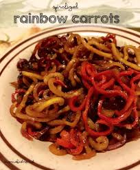 Thanksgiving Carrots 20 Minute Spiralized And Honey Roasted Rainbow Carrots
