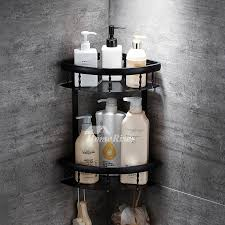 Wall Mounted Bathroom Shelves Layer Bathroom Shelves Wall Mounted Black