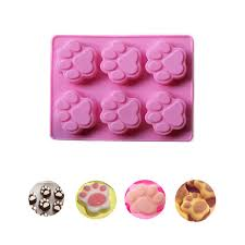 Aliexpress Com Buy Our Cherish Cat Paw Print Silicone Cookie