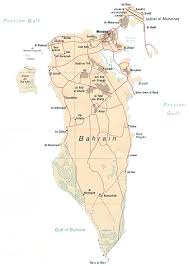 map of bahrain map of bahrain by phonebook of bahrain com