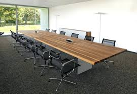 Office Furniture Boardroom Tables Boardroom Tables With Data Ports Uk Meeting Room Table And Chairs