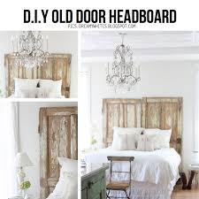 How To Make A Door Headboard by 10 Diy Ideas To Give New Life To Old Doors
