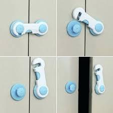 startling baby safe drawer locks design blue adhesive kids child
