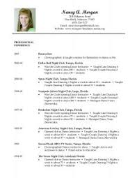 examples of resumes resume template objective waitress server in
