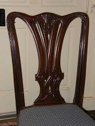 chippendale dining room set chippendale dining room chairs gates antiques ltd richmond va