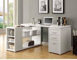Corner White Desks The White Corner Desk Design From Monarch Specialties Will Give