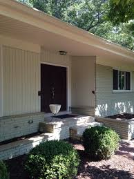 mid century modern home need suggestions for exterior paint colors