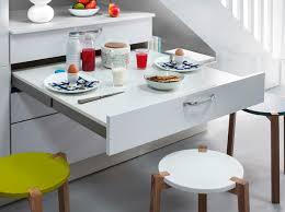 idee meuble cuisine meuble cuisine avec table escamotable 13 lzzy co