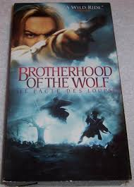 brotherhood of the wolf le pacte des loups vhs ebay
