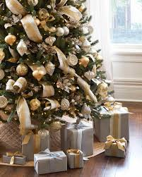 gold christmas tree silver and gold christmas tree white spruce balsam hill and tree