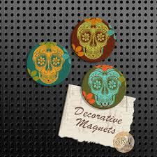 Shop Day The Dead Sugar Skull Decor on Wanelo