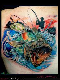 75 best fishing tattoos images on pinterest back pieces