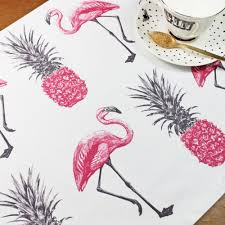 the rise of pink flamingo décor selected items available online