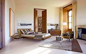 bedroom beautiful minimalist bedroom brown rug black white wall