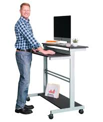 Sit Down Stand Up Desk by Standing Desks Stand Up Desk Store