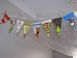 recycled christmas card garland learning 4 kids