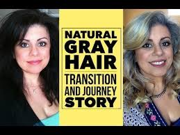 images of grey hair in transisition natural gray hair my journey and transition maryam r video