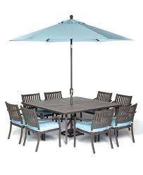 CLOSEOUT Holden Outdoor Aluminum Pc Dining Set  Square - Outdoor aluminum furniture