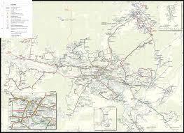 Transport Map Public Transport Map Of Saarbrücken Germany 5000 X 3638 Mapporn