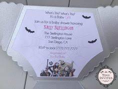 nightmare before baby shower invitations invites