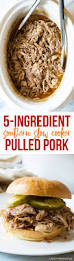 5 ingredient southern slow cooker pulled pork a spicy perspective