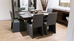Large Wooden Dining Table by Contemporary Square Dining Table For 8 Homes Design Inspiration