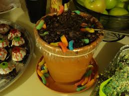 Dirt Cake Halloween by Design Dna Halloween Party