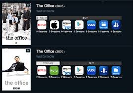 how to see which services offer a movie or show for streaming
