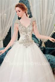 gorgeous wedding dresses 2018 gorgeous wedding gowns v neck sleeve sequined