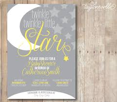 twinkle twinkle little star baby shower invites kawaiitheo com