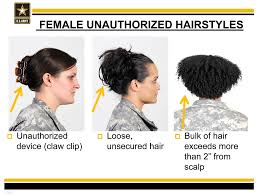 hairstyles for female army soldiers is natural hair against us army hair regulations what we re
