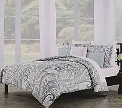 Gray Paisley Duvet Cover Bed U0026 Bedding Wonderful Nicole Miller Bedding For Bedroom