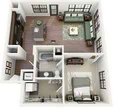 floor plans for small houses 50 one 1 bedroom apartment house plans house 3d and