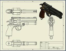 hellboy prop by dan0nator 3d prints pinterest guns