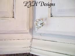 Kitchen Cabinet Glazing Techniques Pjh Designs Hand Painted Antique Furniture Kitchen Remodel Diy
