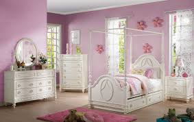 Youth Bed Sets by Dorothy 6pc Canopy Full Bedroom Set 30355f
