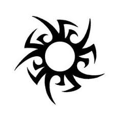 tribal sun drawing at getdrawings com free for personal use tribal