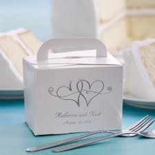wedding cake boxes for guests take home wedding cake box i got