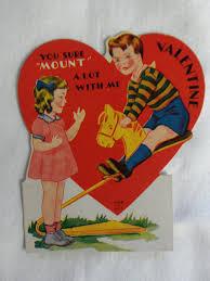 vintage valentines 19 creepy vintage s day cards creepy gallery