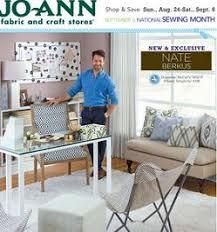 Home Decor Ads Joann Fabrics Ad 50 Off Entire Stock 54