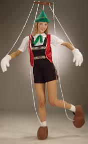 Pinocchio Halloween Costume Pinocchio Puppet Costume Easy