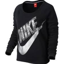 nike sweaters nike s rally sequin crewneck from s sporting goods