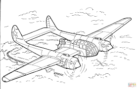 reconnaissance aircraft coloring page free printable coloring pages