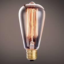 oak leaf edison bulbs 40w incandescent filament vintage antique