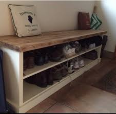 bench top attractive shoes storage for house plan shoe with