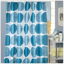 Shower Curtain Contemporary Blue Circle Shower Curtains Contemporary Funky Shower Curtain