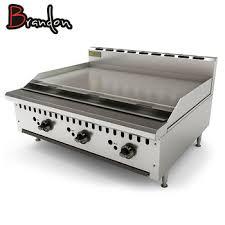 equipement cuisine commercial équipement de cuisine ce sans fumée teppanyaki commerciale fonte de